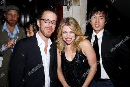 Ethan Coen, Sari Lennick and David Kang