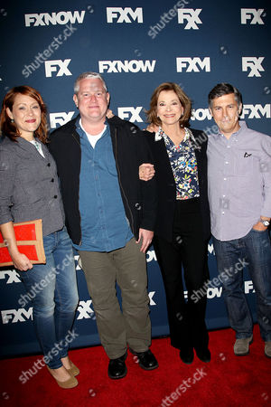 Stock Photo of Amber Nash, Adam Reed, Jessica Walter, Chris Parnell