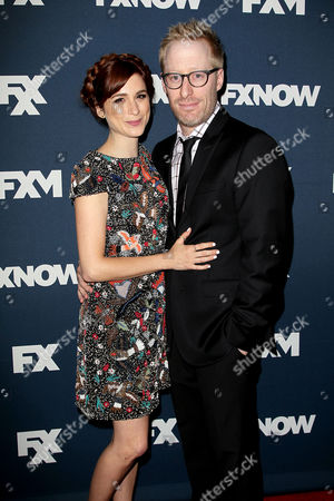 Aya Cash and Josh Alexander