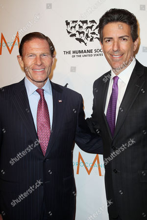 Senator Richard Blumenthal and Wayne Pacelle
