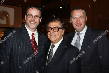 Jack Pitney (VP of Marketing, BMW North America), Bob Colacello and Edward Menicheschi (Publisher of Vanity Fair)