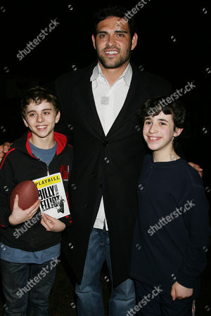 Michael Dameski, Mark Sanchez and Trevor Braun