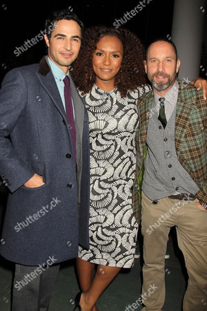 Zac Posen, Janet Mock and Alexis Bittar