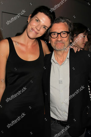 Annabelle Dunne and Griffin Dunne