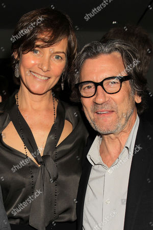 Carey Lowell and Griffin Dunne