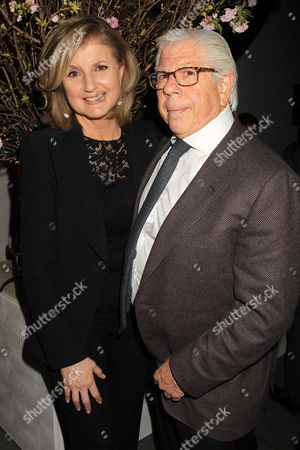 Arianna Huffington and Carl Bernstein