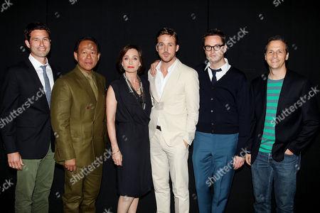 Yayaying Rhatha Phongam, Vithaya Pansringarm, Ryan Gosling, Nicolas Winding Refn and Kristin Scott Thomas