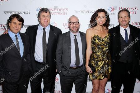 Robert Lantos (Producer), Tom Bernard (Co-President Sony Pictures Classics), Paul Giamatti, Minnie Driver, Richard J Lewis (Director)