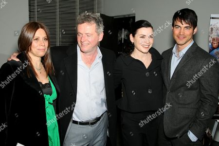 Stock Image of Elizabeth Bracco, Aidan Quinn, Julianna Margulies and Keith Lieberthal