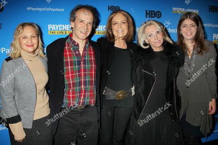 Shari Cookson, Nick Doob, Sheila Nevins, Gloria Steinem, Nancy Abraham