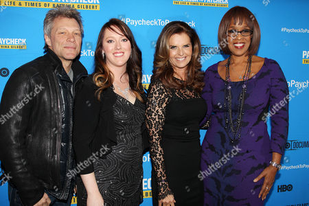 Jon Bon Jovi, Katrina Gilbert, Maria Shriver, Gale King