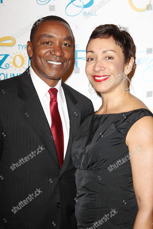 Stock Picture of Isiah Thomas and Lynn Kendall