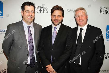 Dylan Wiley, Matthew Miele and David Reckziegel