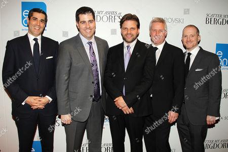 Stock Image of Jim Gold, Dylan Wiley, Matthew Miele, David Reckziegel, Josh Schulm