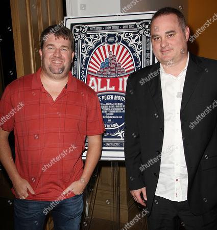 Chris Moneymaker and Douglas Tirola