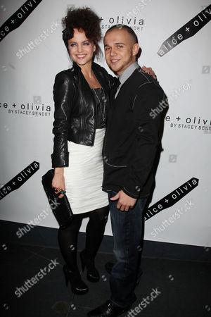 Mena Suvari and Simone Sestito (fiance)