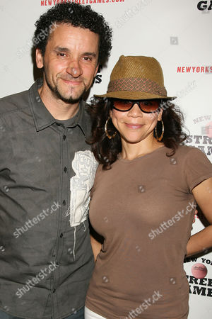 Lee Quinones and Rosie Perez