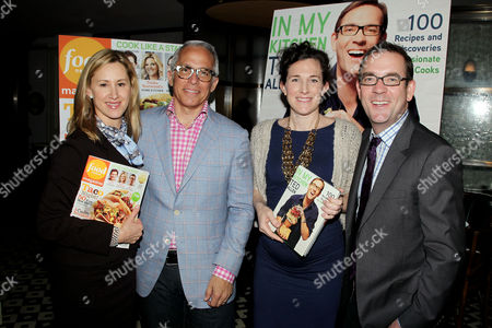 Editorial picture of 'In My Kitchen' book launch party, New York, America - 09 May 2012