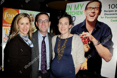 Stock Image of Vicki Wellington, Ted Allen and Maile Carpenter
