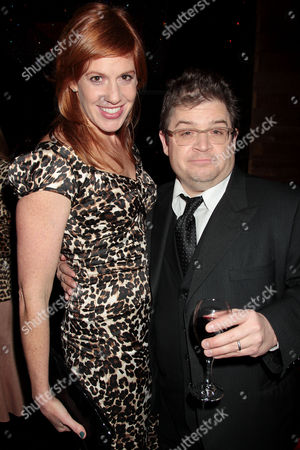 Kate Nowlin and Patton Oswalt