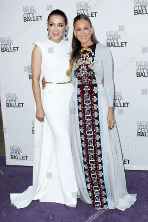 Cindy Chao and Sarah Jessica Parker