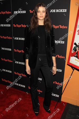 Editorial photo of 'The Night Before' film screening, New York, America - 16 Nov 2015