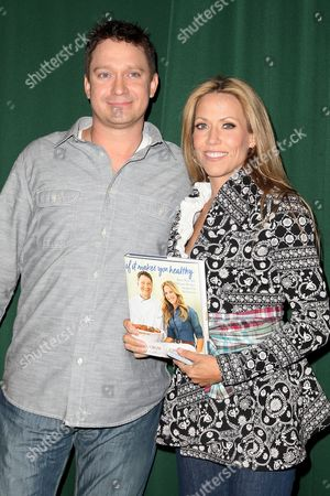 Stock Picture of Chuck White and Sheryl Crow