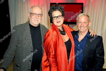 David Sheppard, Cindy Allen (DIFFA Chairman), Marc Blackwell