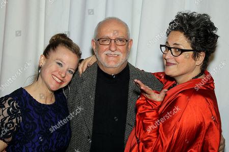 Johanna Osburn (Exec. Dir. DIFFA), David Sheppard, Cindy Allen (DIFFA Chairman)