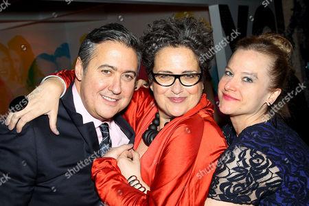 Alfredo Paredes, Cindy Allen (DIFFA Chairman), Johanna Osburn (Exec. Dir. DIFFA)