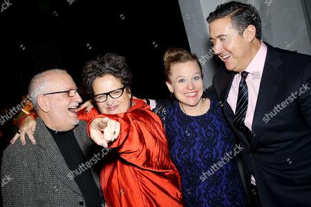 Stock Image of David Sheppard, Cindy Allen (DIFFA Chairman), Johanna Osburn (Exec. Dir. DIFFA), Alfredo Paredes