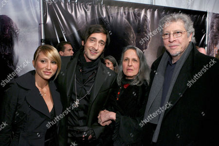 Michelle Dupont, Adrien Brody with parents Sylvia Plachy and Elliot Brody