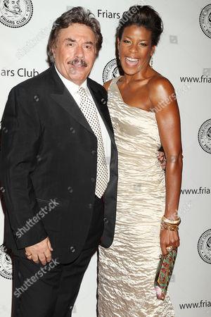 Stock Image of Tony Orlando and Nicole Henry