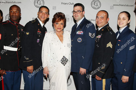Connie Francis with Troops