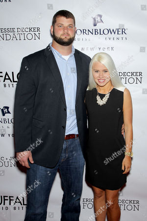 Dalton Freeman (#63 Jets) with Sara