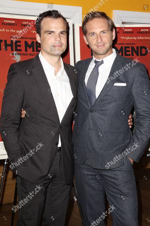 Stock Photo of Stephen Plunkett and Josh Lucas