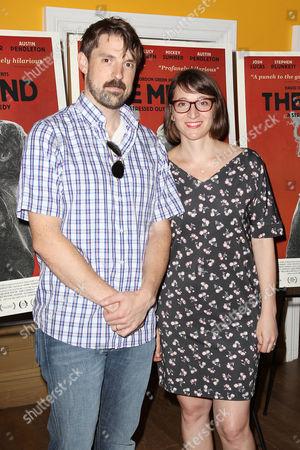 Stock Image of Michael Prall and Myna Joseph (Producers)