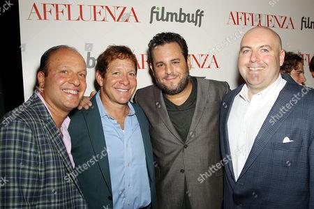 Morris S. Levy, Steve Guttenberg, Kevin Asch, Antonio Macia