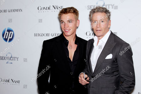 Nick Gruber and Calvin Klein
