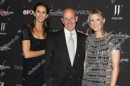 Lisa Immordino Vreeland (Filmmaker), Jonathan Tisch and Lizzie Tisch