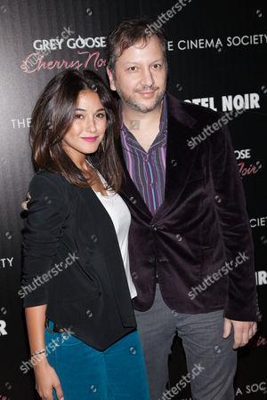 Emmanuelle Chriqui and Sebastian Gutierrez