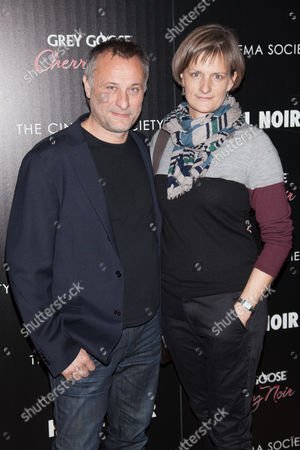Stock Image of Michael Nyqvist and Catharina Ehrnrooth