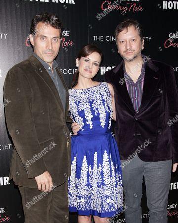 Rufus Sewell, Carla Gugino and Sebastian Gutierrez