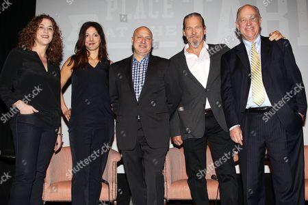 Kristi Jacobson, Lori Silverbush, Tom Colicchio, Jeff Bridges and Bill Shore