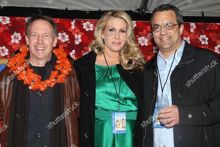 Dennis Dugan, Heather Parry and Jack Giarraputo