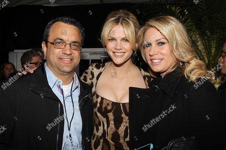 Jack Giarraputo, Brooklyn Decker and Heather Parry