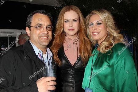 Jack Giarraputo, Nicole Kidman and Heather Parry