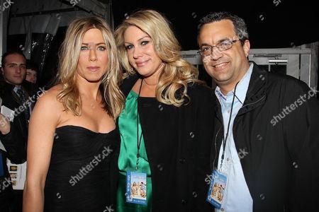 Jennifer Aniston, Heather Parry and Jack Giarraputo