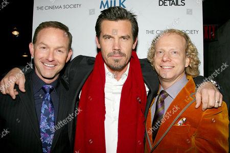 Dan Jinks, Josh Brolin and Bruce Cohen