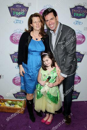 Matt Walton with Family